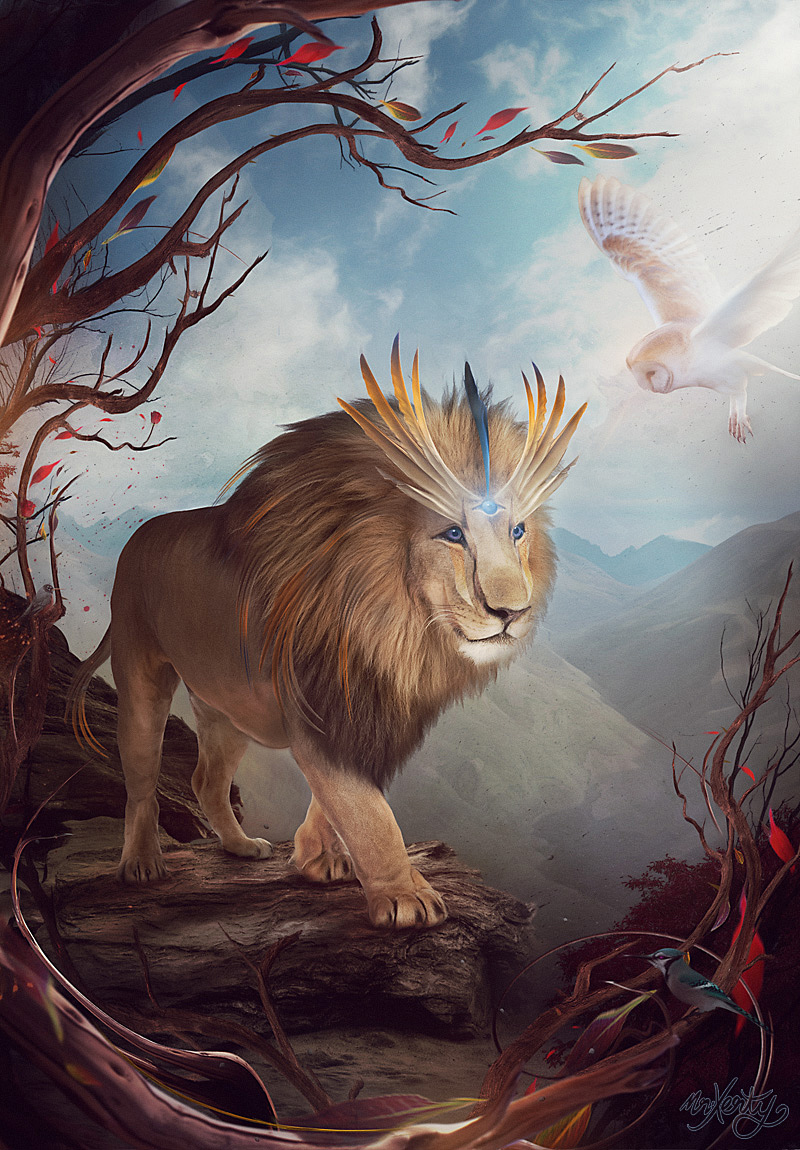Lion-Mighty